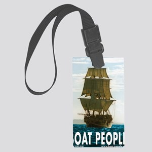 Boat_people Large Luggage Tag